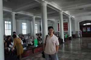 平壤火車站大堂