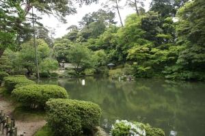 兼六園—日式池塘