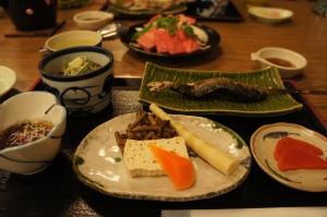 溫泉酒店晚餐