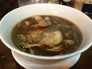 濃醬油湯麵