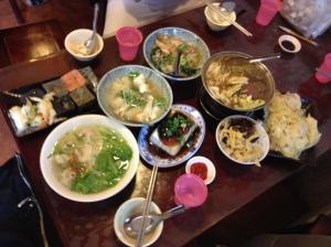 清安豆腐街午餐
