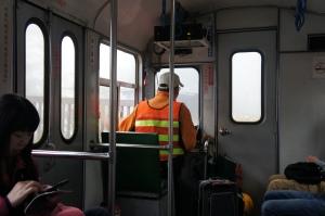 阿里山—有人駕駛小火車