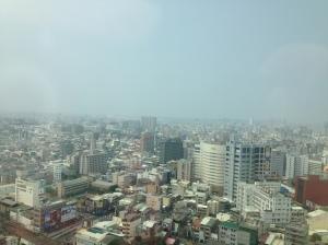 酒店外望台南市景