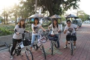 單車隊出發