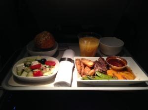 英航的飛機餐