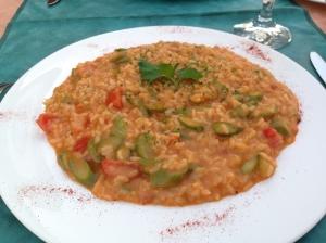 茄汁露筍意大利飯