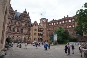 海德堡城堡內