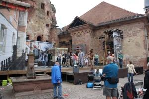 海德堡城堡內— 歌劇綵排注意