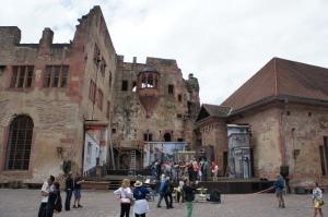 海德堡城堡內—純天然佈景