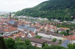 鳥瞰海德堡全景