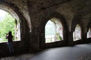 海德堡城堡內—回廊