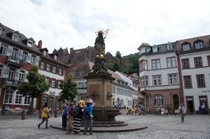 海德堡舊城區1