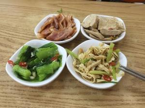 林東芳牛肉麵-涼拌小菜