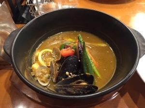 天馬咖喱—咖喱海鮮鍋