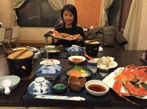 網走北海酒店晚餐(1)