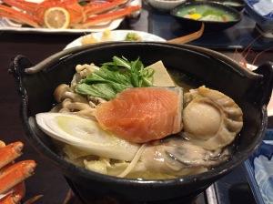 網走北海酒店晚餐(2)