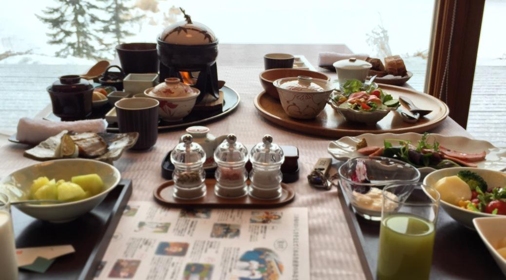 十勝三餘庵早餐(1)
