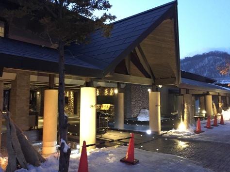 支笏湖鶴雅休閑度假溫泉水之歌—酒店接待處