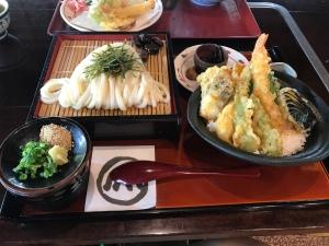 うどん本陣山田家本店 - 上天丼套餐