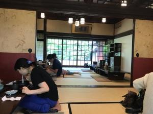 うどん本陣山田家本店 - 餐廳內
